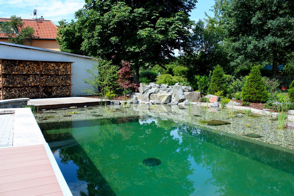 Referenzen gartenpools von tara teich und garten for Garten pool korfu 1