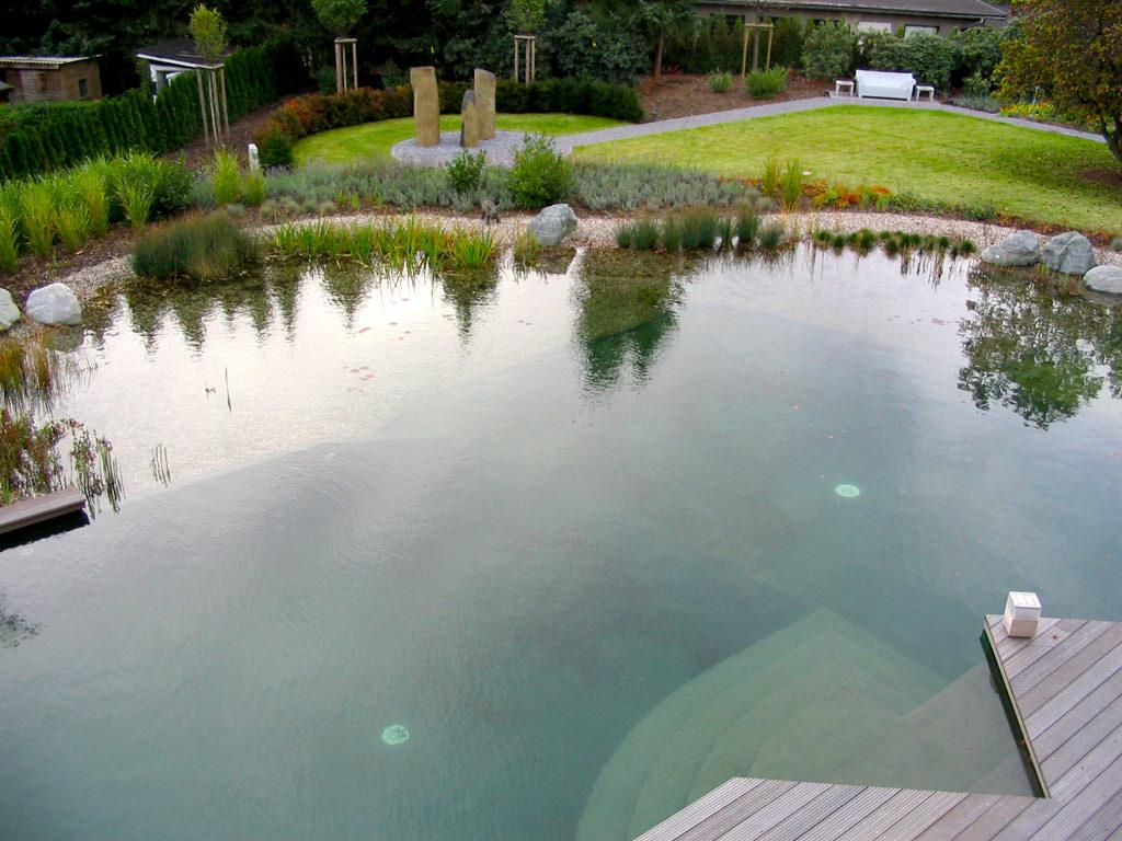 Schwimmteich im grossraum koeln 1 teichbau garten und for Gartengestaltung leipzig