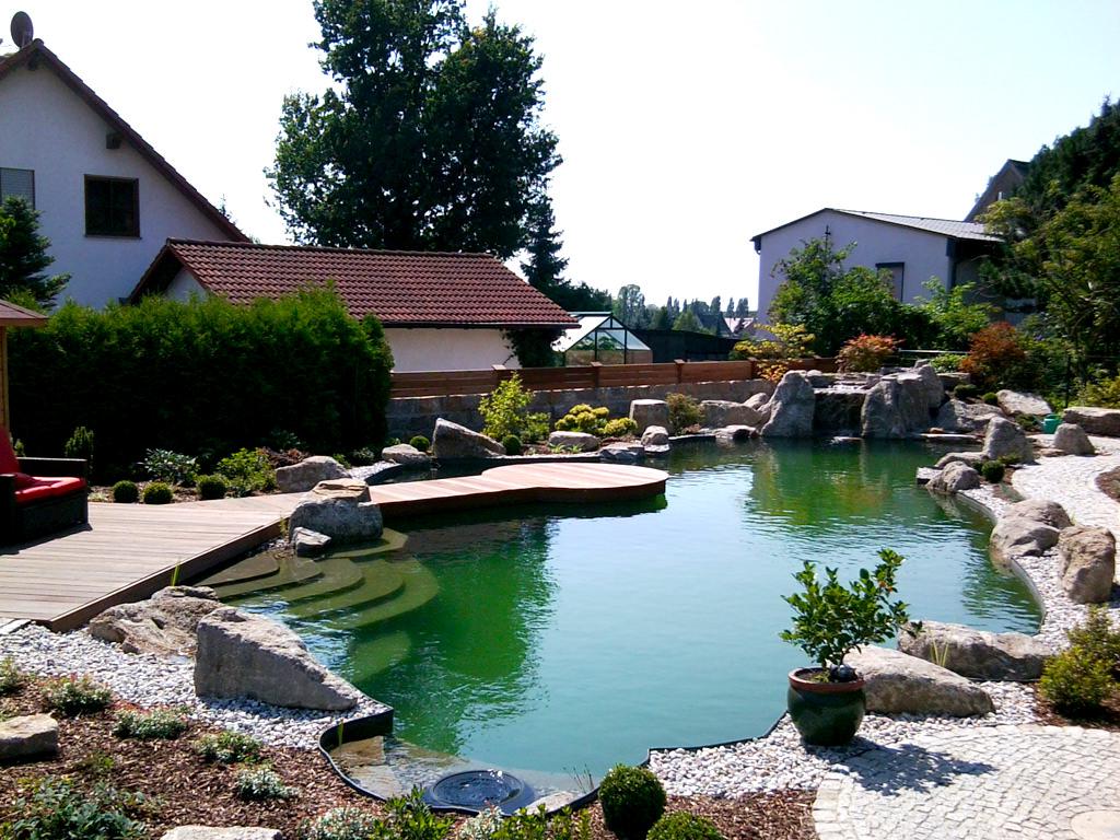 Referenzen - Schwimmteiche von Tara Teich und Garten